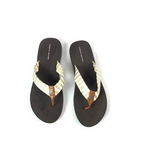TOMMY HILFIGER Women's Size 9 Thong Sandals